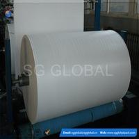 100% virgin woven polypropylene tubular laminated fabric in roll