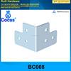 corner brace for music equipment case chrome plating