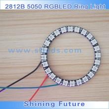 LED Pixel Ring WS2812B NEON PIXEL RING, RGB Digital LED Ring Light 5050