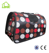 New design elegant canvas carrier package rabbit dog cat pet carrier comfortable dog carrier bag