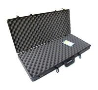 Black practical aluminum gun case fireproof hunting case RZ-SG-023