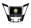 Quad core!car dvd with mirror link/DVR/TPMS/OBD2 for 8 inch touch screen quad core 4.4 Android system HYUNDAI SONATA