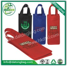 Quality shopping tote bag Non woven wine bag for one bottle