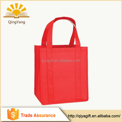 2015 Hot Sale Low Price two color two sides silk printing eco non woven bag
