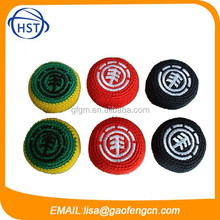 Promotion Woven juggling ball, knitted ball, footbag,kickball