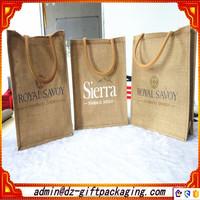 Luxury Eco-Friendly Burlap Tote Bag /Jute Tote Bags Wholesale /Jute Shopping Bag