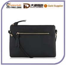 2015 New Model Small Fashion Black PU Leather Lady Bag