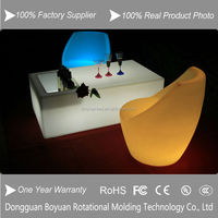 LED bar table with ice bucket/nightclub led wine table/bar furniture