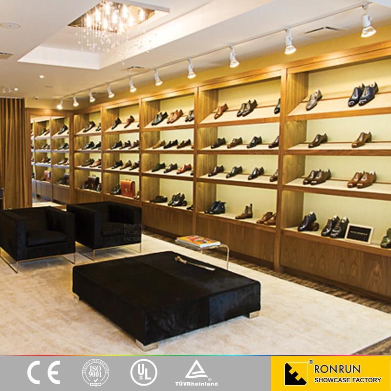 GSC0001 패션 신발 매장 디스플레이 가구 나무 벽 디스플레이 ...