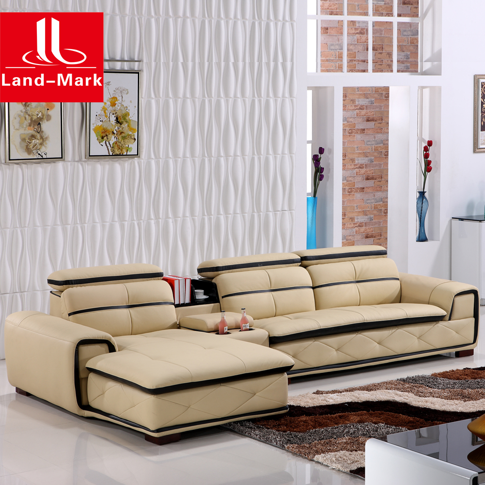 modern leather corner living room sofa set furniture 1722 buy modern