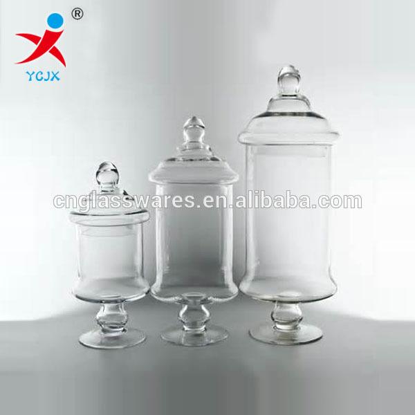 Home Decoration Large Clear Glass Storage Jar With Lids Buy Mesmerizing Decorative Glass Storage Jars