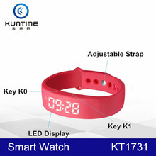 2015 New Products Multifunction USB Charging Pedometer Smart Watch
