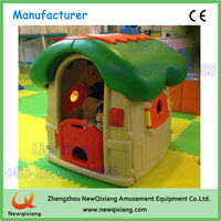 Indoor playground cheap wooden playhouse/plastic kids playhouse/play house for kids
