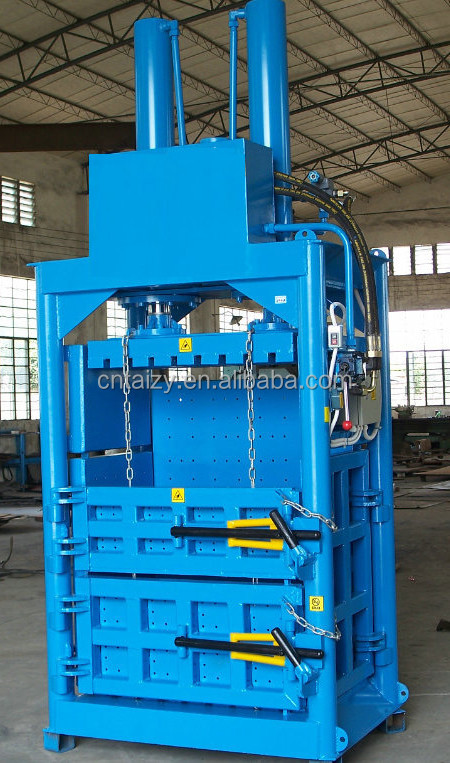 Cardboard Hydraulic Ar : Kg hydraulic waste paper baling packing machine used