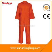 KINGLONG 2015 100%Cotton Proban Anti Fire Resistant Fire Fighting Flame Retardant FR coverall