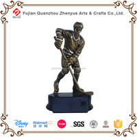 Polyresin Bronze Brass Resin Hockey Ball Trophy Cup Prize