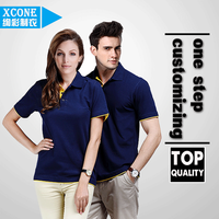 xc03-23 Professional Custom Polo Shirts OEM Service Blank T-shirt