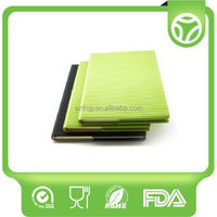 Best quality newly design silicone soft cover exercise book