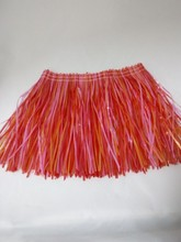 Hawaii hula skirt party decoration for baby girls