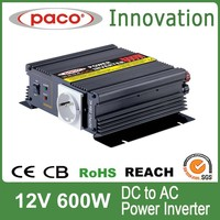 12 volt LED inverter generator with circuit protection