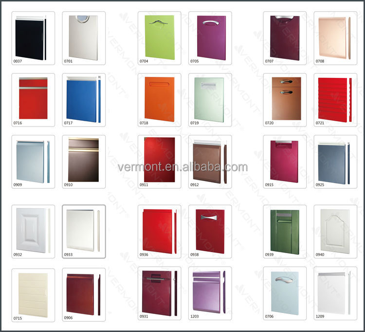 Modular kitchen cabinet color combinations