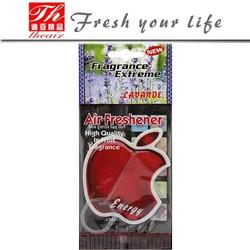 Make hanging paper custom car air freshener