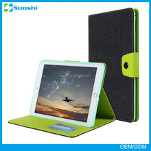 For Apple iPad Air 2 Smart Stand Tablet Cover with PC Back Case