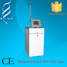 beijing professional tattoo removal laser machine hot sale q switch nd yag laser for tattoo removal