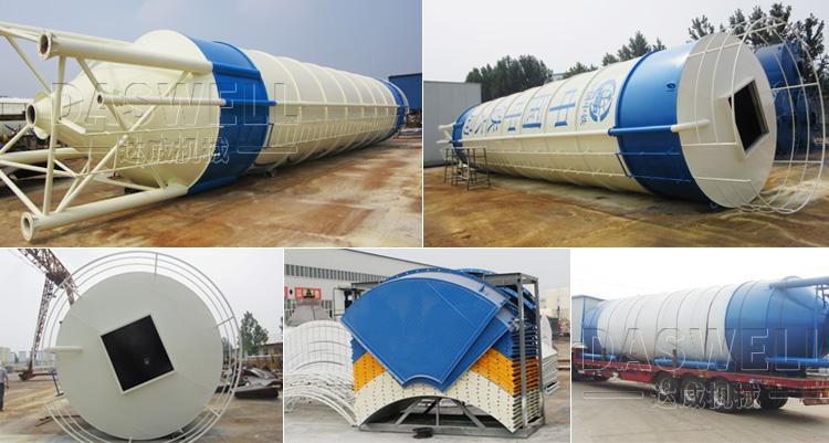 Haute qualit asphalte ciment silo avec ce centrale - Difference entre ciment et beton ...