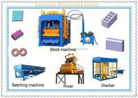 QT4-15 tube a beton price in india brick block machine