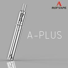 World best selling products pure taste A Plus 3000mah disposable vapor pro e-cigarette kit surpass cfiber 30w 2400mah