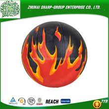 wholesale promotional Customized color official size 7 rubber basketball