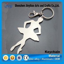 pretty shape dancing girl ballerina keychain manufacturer