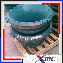 Stone Crushing Plant Stone Cone Crusher Spares Parts Mantle and Bowl Liner