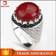 Beautiful woman gem ring, 925 silver jewelry popular commodity wholesale jewelry supplier in China