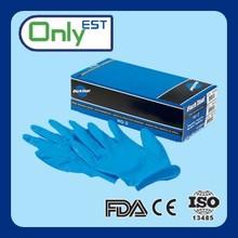 Meet EN388 industrial grade heavy duty 6mil nitrile examination glove