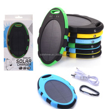 New Products 2015 Innovative Product Waterproof Solar Phone Charger, Power Bank Solar, Solar Energy Power Bank