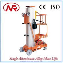 High working capacity easily operated high quality single person lift