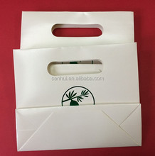 Directly factory customized mini , luxury paper shopping bags for garment