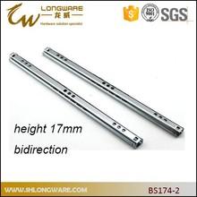 17mm mini ball bearing drawer slides