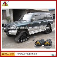 All-terrain SUV conversion system /rubber track vehicle/ 4x4 car rubber tracks