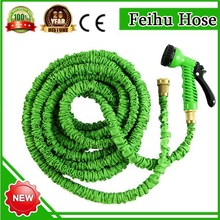 Top selling car products expandable hose brass fittings/soft rubber hose