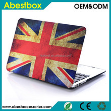 Flag Leopard Printed design laptop protective cover case for macbook Air Pro 11/13/15 inch PC hard shell case cover