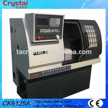 de alta calidad de metal pequeña tirada de collar o torno cnc de la máquina para la venta CK6125A