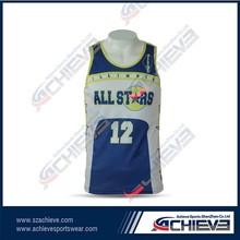 Custom sublimated reversible basketball jerseys basketball jerseys