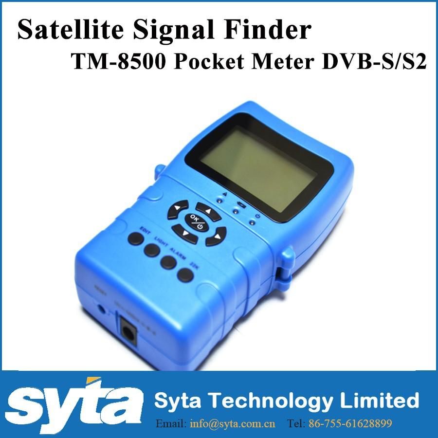 Tm8500 Hd Meter Trimax Digital Satellite Finder Meter