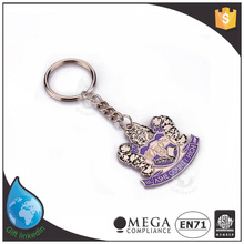 Fcatory direct selling keychain with clock