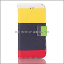 Moda tipo Flip capa de couro para o iPhone 6 carteira caso do telefone móvel para iphone6