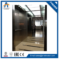 luxurious panoramic glass construction lift price of sale