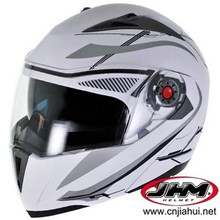 DOT dual visors motorcycle flip up helmet